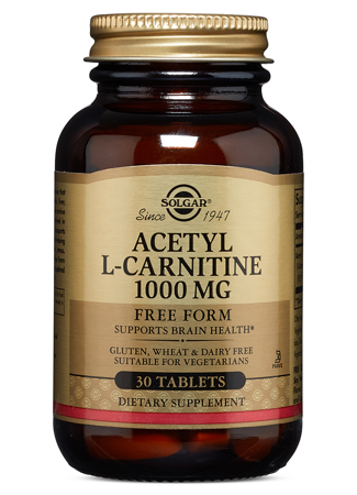 Picture of SOLGAR ACETYL- L-CARNITINE 250 MG