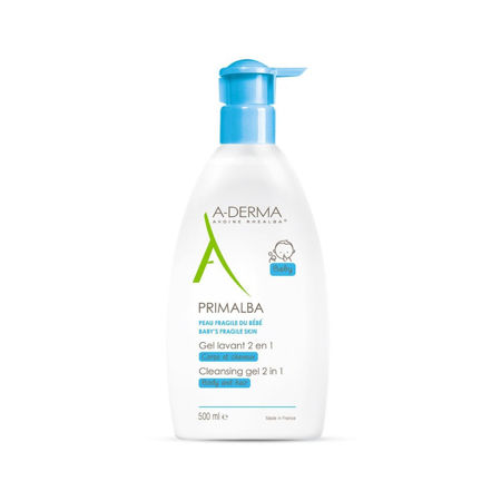 Picture of A-DERMA PRIMALBA GEL ZA ČIŠĆENJE 2U1 500 ML