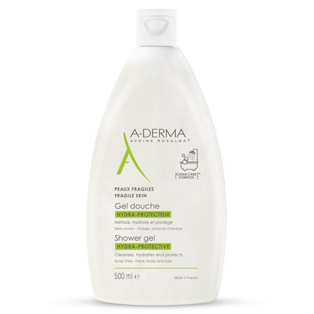 Picture of A-DERMA GEL ZA TUŠIRANJE HYDRAPROTECT 500 ML