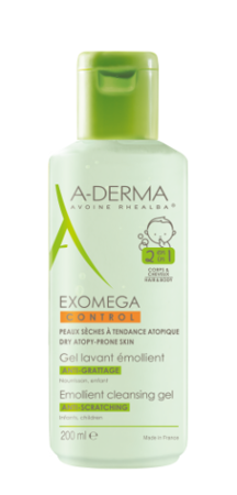 Picture of A-DERMA EXOMEGA CONTROL EMOLIJENTNI GEL 200 ML