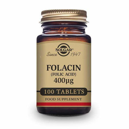 Picture of SOLGAR FOLACIN 400 MCG TABLETE 100 KOM
