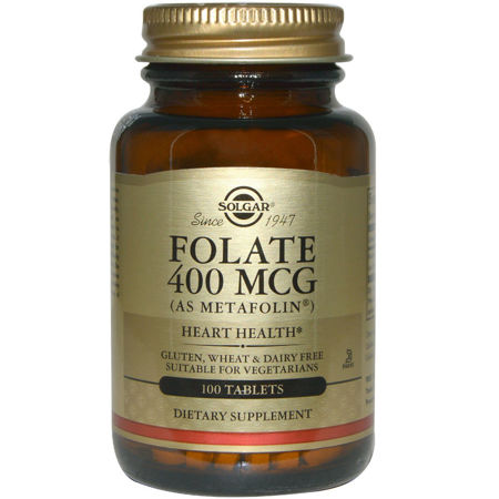 Picture of SOLGAR FOLAT 400 MCG TABLETE 50 KOM