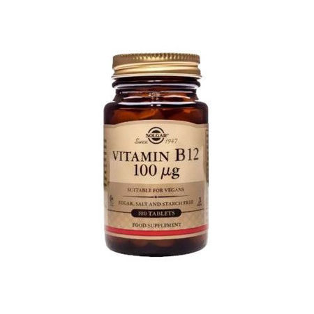 Picture of SOLGAR VITAMIN B12 TABLETE 100X100 MCG