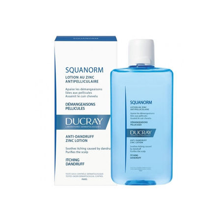 Picture of DUCRAY SQUANORM LOS.PR.PRHUTI 200 ML.