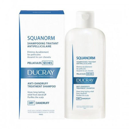 Picture of DUCRAY SQUANORM ŠAMP SUHA PRHUT 200 ML