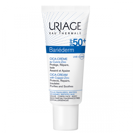 Picture of URIAGE BARIEDERM CICA KREMA SPF-50 40ML