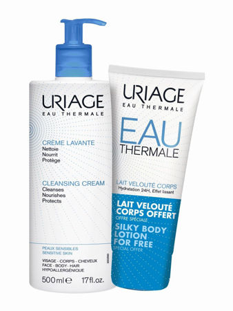 Picture of URIAGE CREME LAVANTE ZA PRANJE 500ML+MLIJEKO ZA TIJELO 200ML