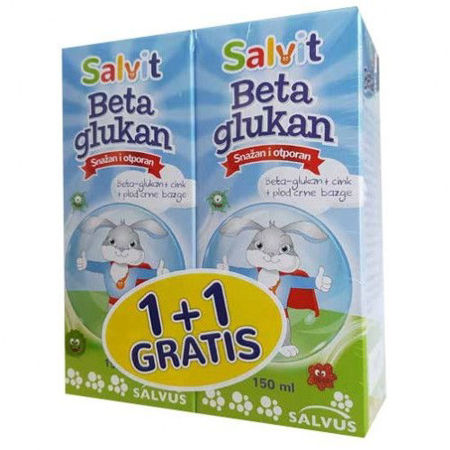 Picture of SALVIT BETA  GLUkAN  SIRUP 150 ML 1+1 GRATIS