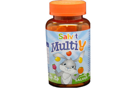 Picture of SALVIT MULTIVITAMINSKI ŽELE BOMBONI 60 KOM
