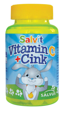 Picture of SALVIT VITAMIN C +CINK ŽELE BOMBONI 60 KOM