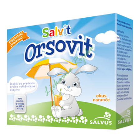 Picture of SALVIT ORSOVIT PRAŠAK 6X6,25 G