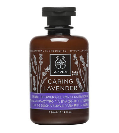 Picture of APIVITA  CARING LAVENDER GEL ZA TUŠIRANJE 300 ml