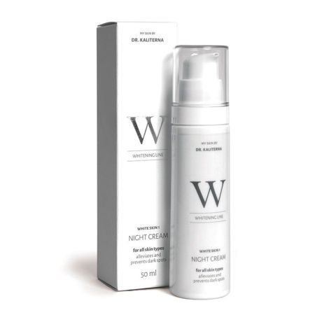 Picture of DR KALITERNA WHITE SKIN 1 NIGHT KREMA 50 ML