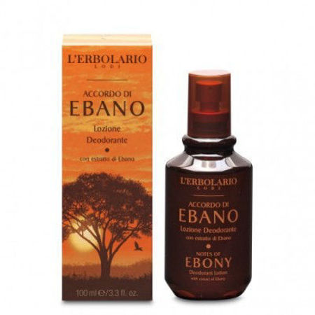 Picture of L'ERBOLARIO ACCORDO DI EBANO DEO LOSION 100 ML