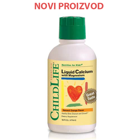 Picture of CHILD LIFE TEKUĆI KALCIJEV MAGNEZIJEV CITRAT 474 ML