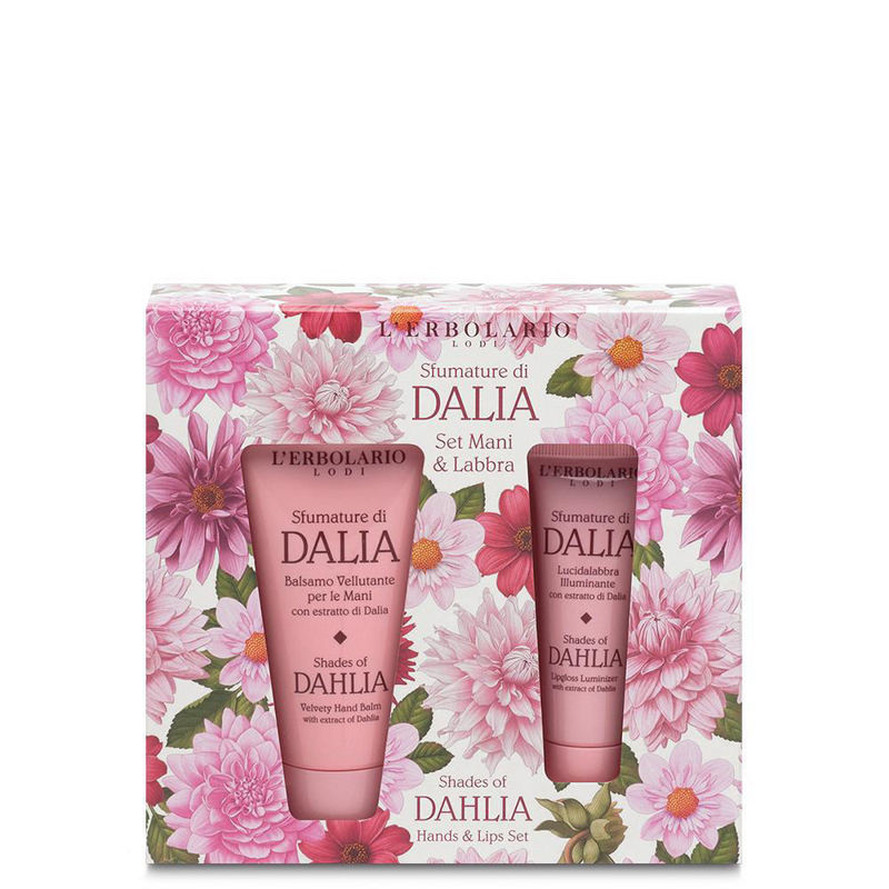 Picture of L'ERBOLARIO DALIA SET KREMA ZA RUKE 30 ML + SJAJILO ZA USNE 10 ML