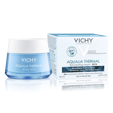 Picture of VICHY AQUALIA  THERMAL BOGATA KREMA ZA HIDRATACIJU KOŽE 50 ML