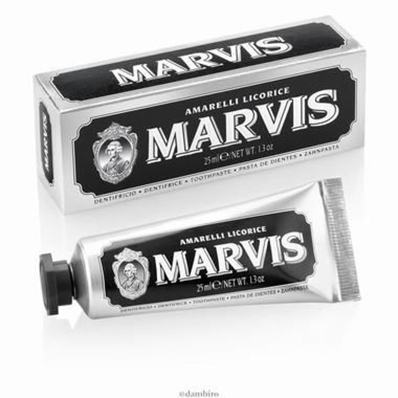 Picture of MARVIS ZUBNA PASTA LICORICE MINT MINI 25 ML