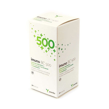 Picture of YASENKA IMUNO BC KAPSULE 60X500 MG