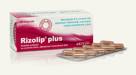 Picture of AKTIVAL RIZOLIP PLUS KAPSULE 60 KOM