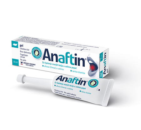Picture of ANAFTIN ORAL GEL 8 ML