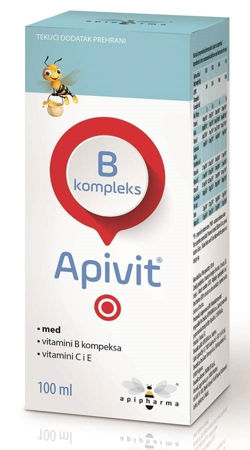 Picture of APIVIT B KOMPLEKS SIRUP 100 ML