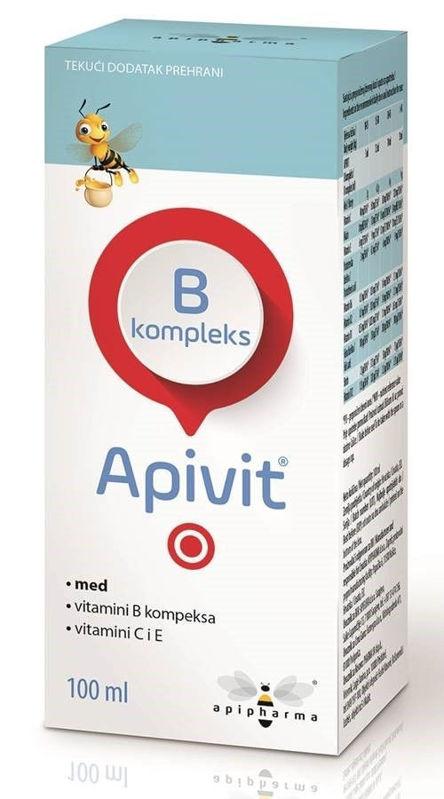 Picture of APIVIT B KOMPLEKS SIRUP 100 ML