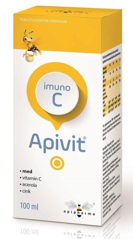 Picture of APIVIT IMUNO C SIRUP 100 ML