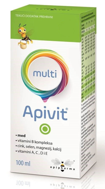 Picture of APIVIT MULTI SIRUP 100 ML