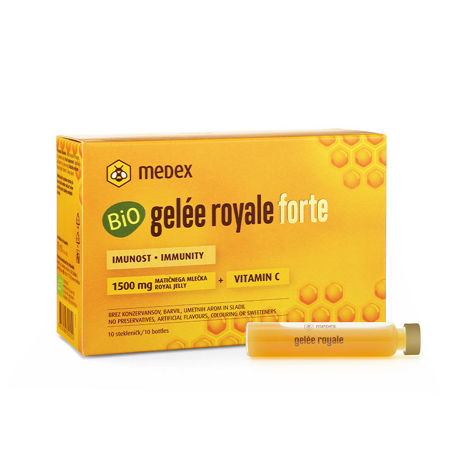 Picture of MEDEX GELLE  ROYAL BIO FORTE 1500 MG AMPULE  10X9