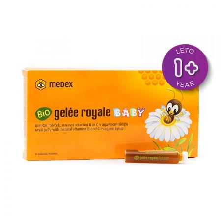 Picture of MEDEX GELEE ROYALE BABY AMPULE 10 X 9ML