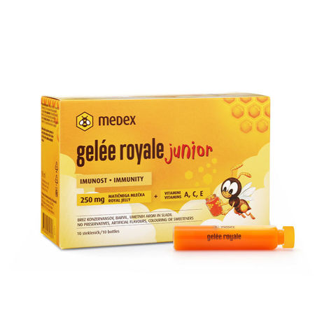 Picture of MEDEX GELEE ROYALE JUNIOR AMPULE 10X9ML