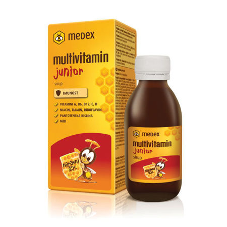 Picture of MEDEX MULTIVITAMIN JUNIOR SIRUP 150 ML