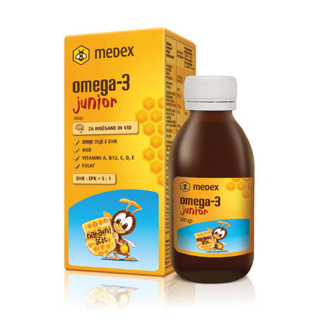 Picture of MEDEX OMEGA-3 JUNIOR SIRUP 140 ML