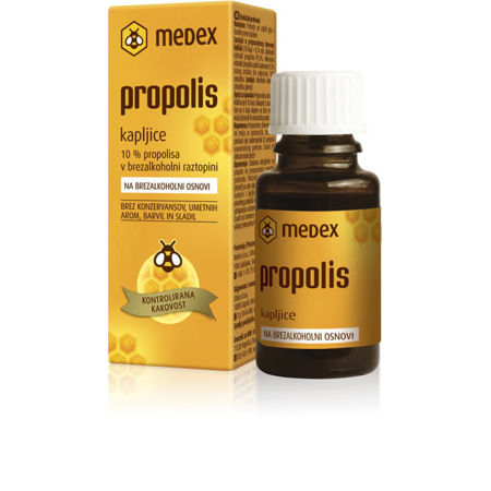 Picture of MEDEX PROPOLIS KAPI 10% 15 ML BEZ ALKOHOLA