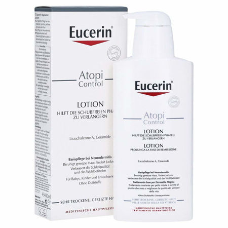 Picture of EUCERIN 63172 AtopiControl LOSION  400 ML