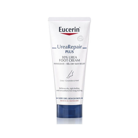 Picture of EUCERIN 63300 UreaRepair PLUS KREMA ZA NJEGU STOPALA SA 10% UREJE 100ML