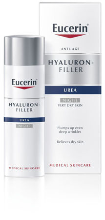 Picture of EUCERIN 63804 HYALURON-FILLER+ UREA 5% NOĆNA KREMA 50ML