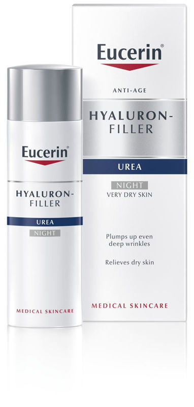 Picture of EUCERIN 63804 HYALURON-FILLER+ UREA 5% NOĆNA KREMA 50ML