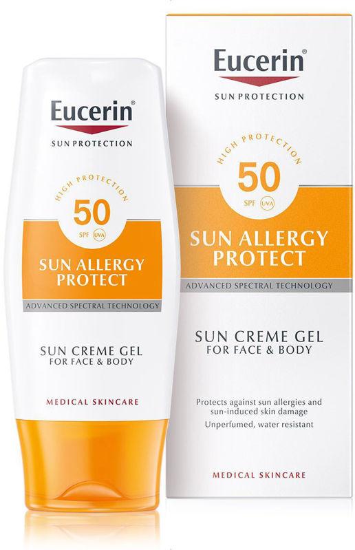 Picture of EUCERIN 63944 SUN ALLERGY PROTECT KREMA-GEL SPF-50 150ML