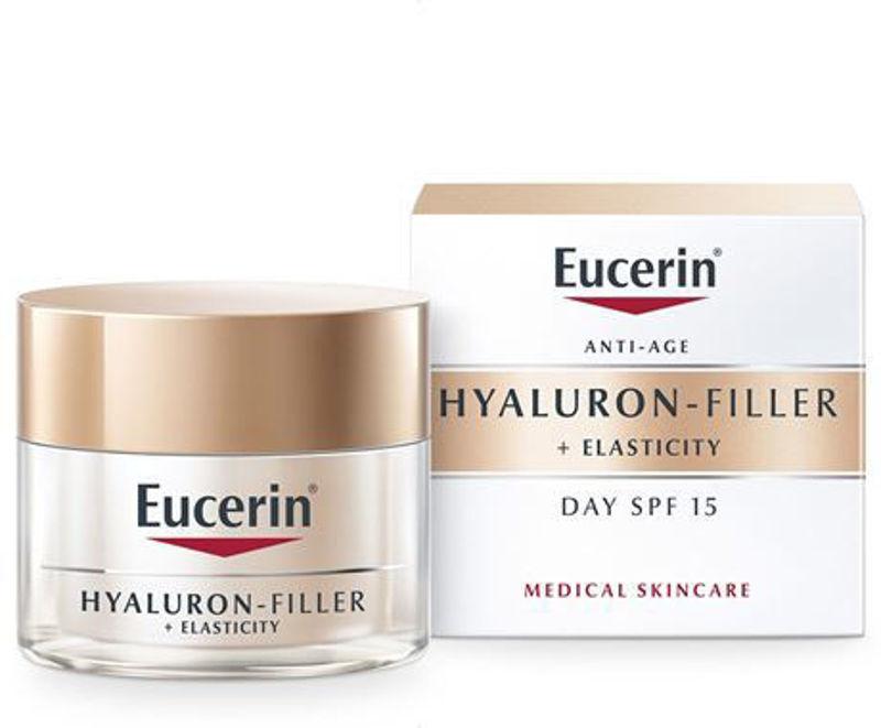 Picture of EUCERIN 69675 HYALURON-FILLER + ELASTICITY DNEVNA KREMA SPF15 50ML