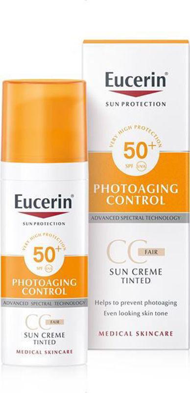 Picture of EUCERIN 69776 SUN PHOTOAGING CONTROL CC TONIRANA KREMA SVIJETLA NIJANSA SPF-50 50ML