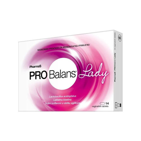 Picture of PROBALANS PHARMAS LADY VAGINALNE TABLETE A14