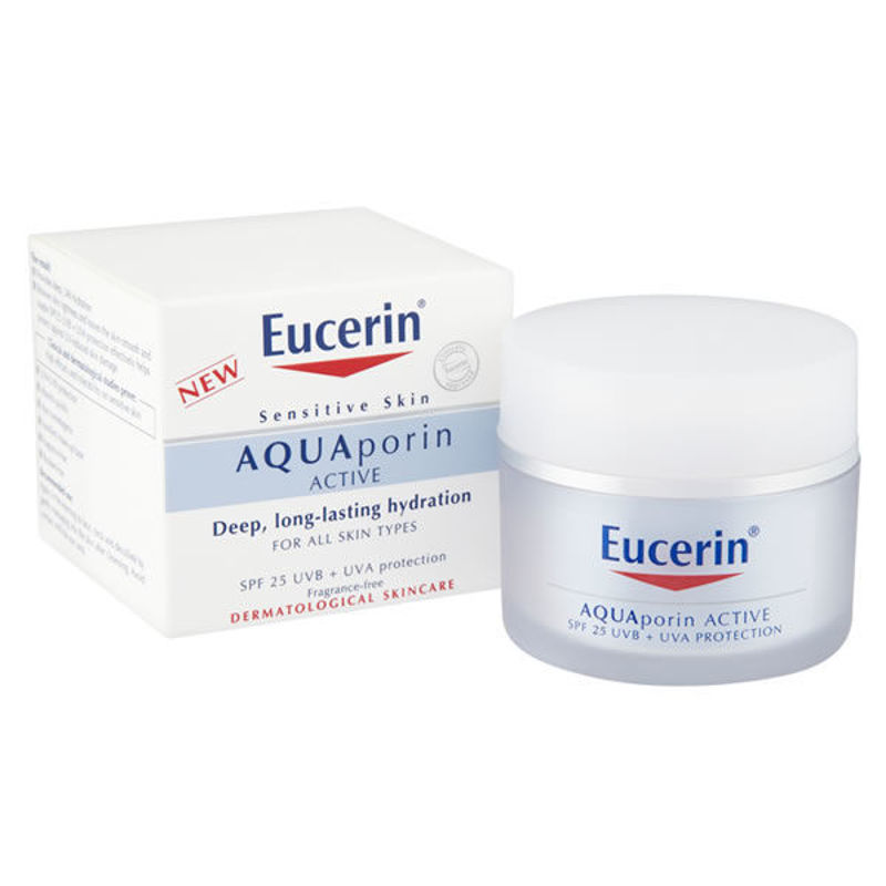 Picture of EUCERIN 69781 AQUAporin ACTIVE KREMA ZA LICE SA UV ZAŠTITOM SPF 25 50ML