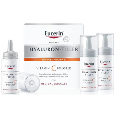 Picture of EUCERIN 83508 HYALURON-FILLER VITAMIN C BOOSTER 3×8 ML