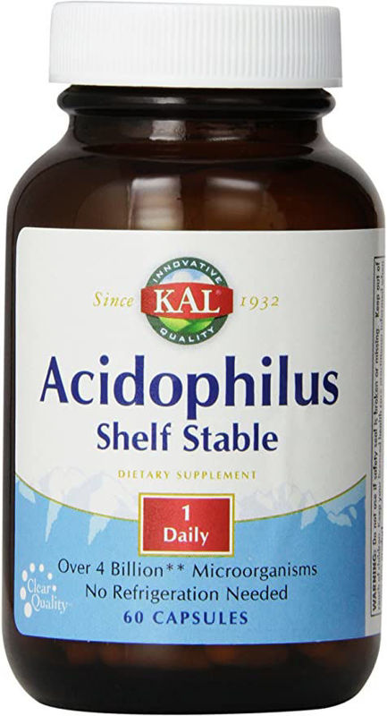 Picture of KAL ACIDOPHILUS SHELF STABLE 60 KOM