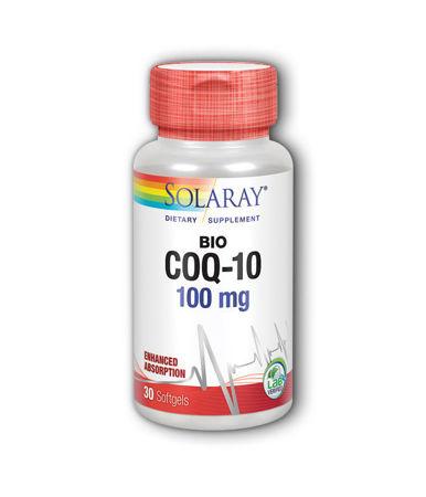 Picture of SOLARAY BIO CO-Q10 PERLE 30X100 MG