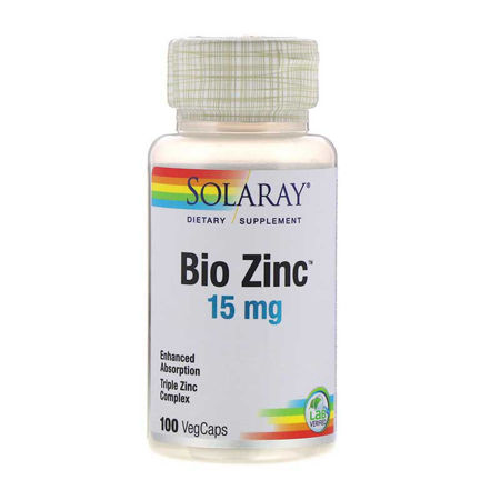 Picture of SOLARAY BIO ZINC KAPSULE 100 KOM