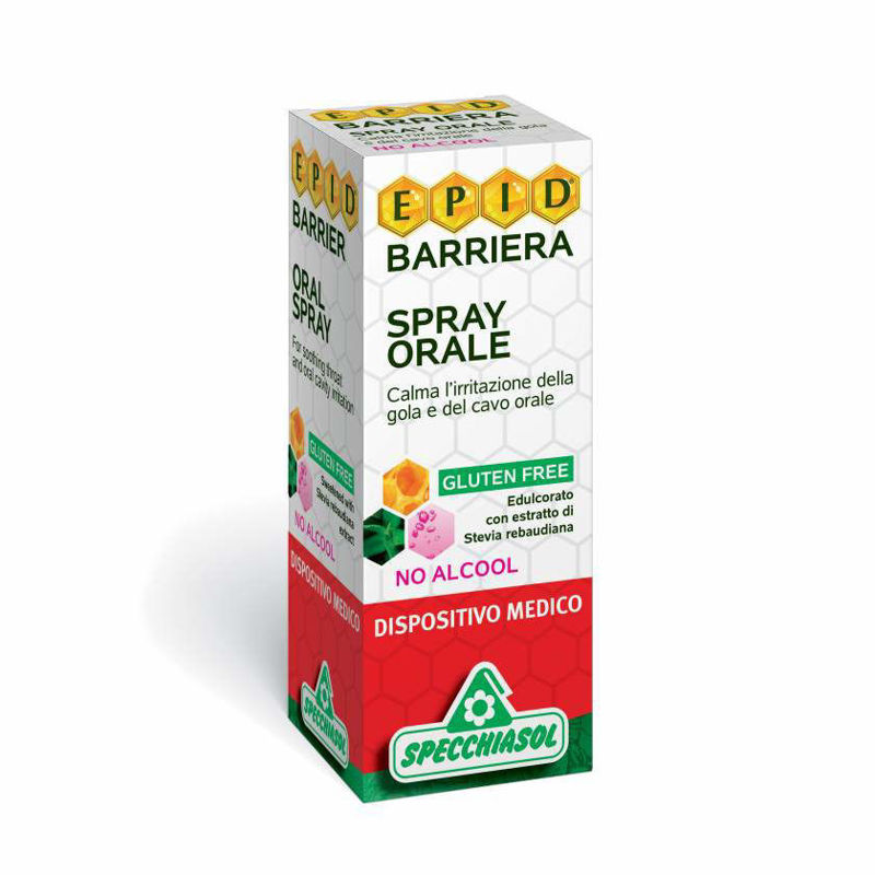Picture of SPECCHIASOL EPID BARRIERA SPREJ ZA USTA BEZ ALKOHOLA 15 ML