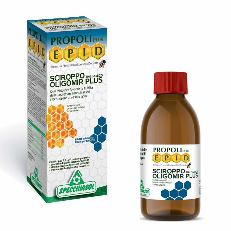 Picture of SPECCHIASOL EPID OLIGOMIR PLUS SIRUP 170 ML
